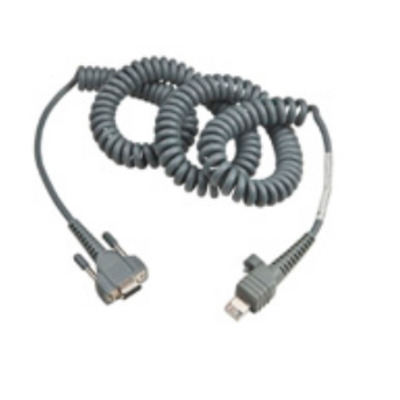 Intermec 12Ft RS232 9-Pin Seriele kabel - Grijs