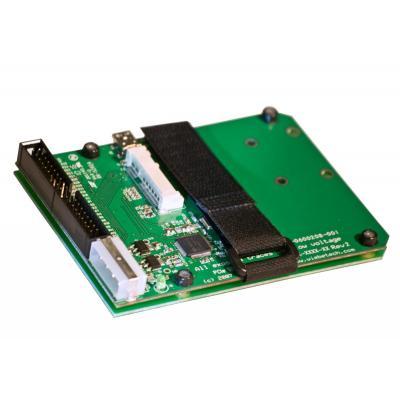 Wiebetech v4 Combo Adapter for mini PCIe flash modules Interfaceadapter - Groen
