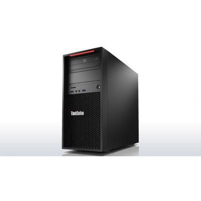 Lenovo ThinkStation P410 + ThinkVision P24q (bundel) Pc - Zwart