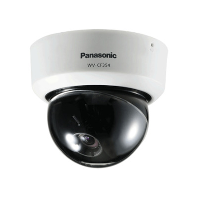 Panasonic WV-CF354E Beveiligingscamera - Wit
