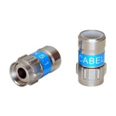 Cablecon coaxconnector: F-Con F-56 5.1 Self-Install Type N46/RG6/Q5/N48, 100 PCS