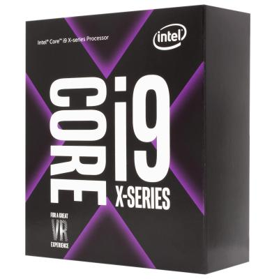 Intel processor: Core Intel® Core™ i9-7980XE Extreme Edition Processor (24.75M Cache, up to 4.20 GHz)