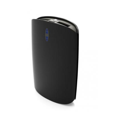 Muvit Portable Power Bank, 7500 mAh, with Micro-USB charging cable, Black