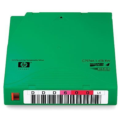 Hewlett Packard Enterprise HP LTO4 Ultrium 1.6TB Non-custom Label Cartridge 20 Pack Datatape .....