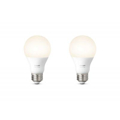 Philips personal wireless lighting: hue Losse lamp E27 duopak 8718696729113 - Wit