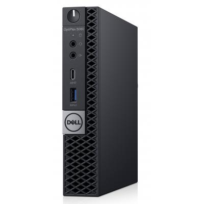 Dell pc: OptiPlex 5060 - Zwart