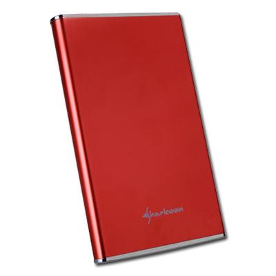 "Sharkoon Rapid-Case 2.5"" IDE/USB Red Behuizing - Rood"