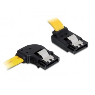 DeLOCK 0.5m SATA III ATA kabel - Geel