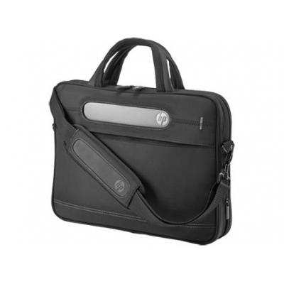 "Hp laptoptas: Business Slim Top Load 12,5""/14,1"" - Zwart"