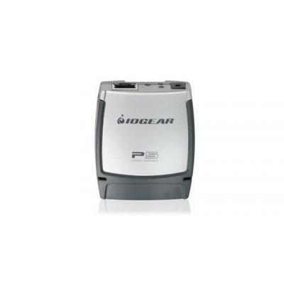 Iogear printer server: USB 2.0 Print Server, 1-Port