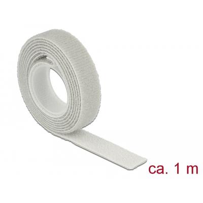 DeLOCK L 1 m x W 13 mm roll grey - Grijs