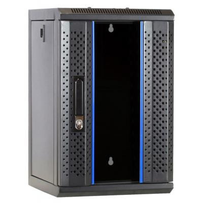 DS-IT 10 inch 9U serverkast met glazen deur 312x310x486mm (BxDxH) Rack