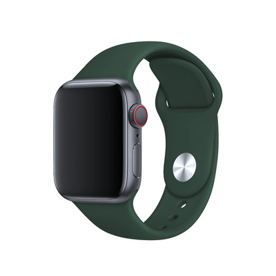 BeHello Band, Apple Watch, 42/44mm, Groen, Siliconen