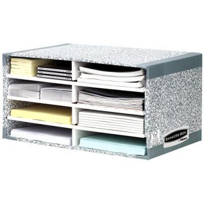 Fellowes archiefdoos: Bankers Box System bureau sorteerder - Grijs
