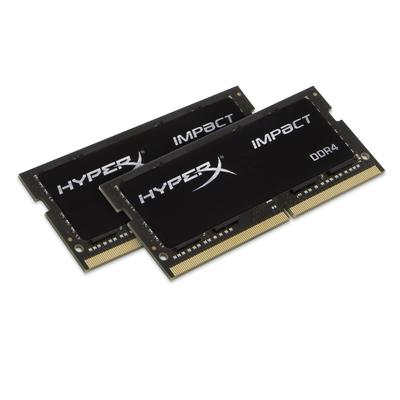 HyperX Impact 16GB DDR4 2666MHz Kit RAM-geheugen - Zwart