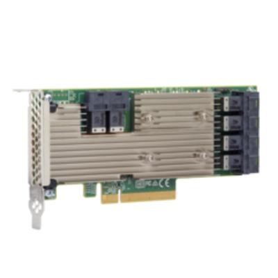 Broadcom 9305-24i Interfaceadapter - Aluminium,Zwart,Groen