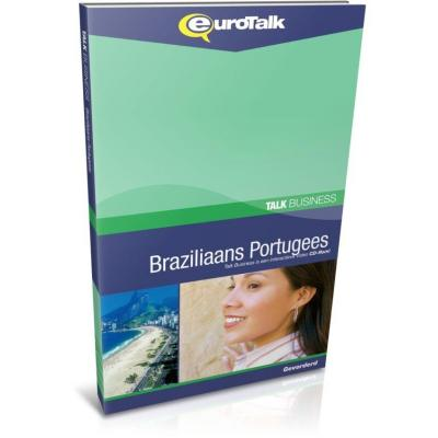 Eurotalk educatieve software: Talk Business, Leer Braziliaans Portugees (Gemiddeld, Gevorderd)