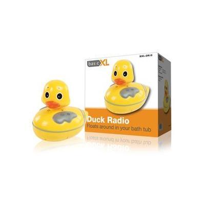 Basicxl radio: Badeend AM / FM radio - Geel