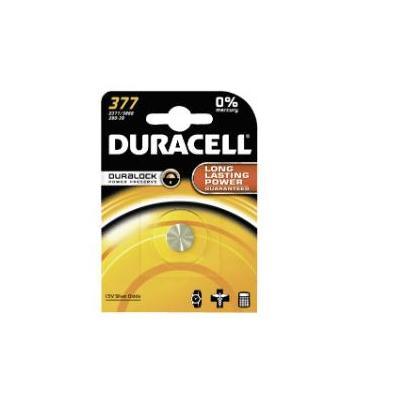 Duracell batterij: Knoopcellen Watch 377