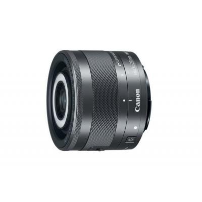 Canon camera lens: EF-M 28mm f/3.5 IS STM - Zwart