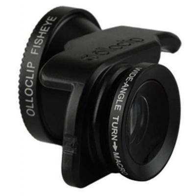 Olloclip : 14.2, black, 3in1 Selfie, Apple iPhone 5/5s/SE - Zwart