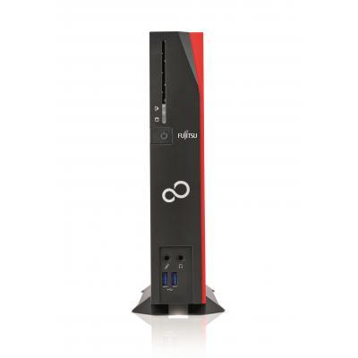 Fujitsu FUTRO S940 thin client - Zwart, Rood