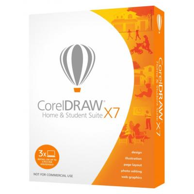 Corel grafische software: DRAW Home & Student Suite X7