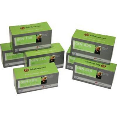 TallyGenicom Rainbow Pack 4 CMYK T8008 Toner - Zwart,Cyaan,Magenta,Geel