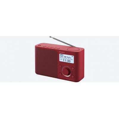 Sony radio: XDR-S61D - Rood