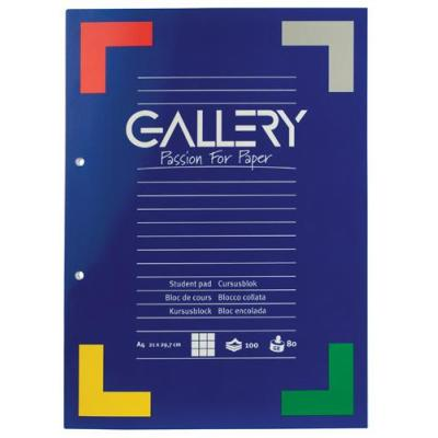 Gallery binding cover: Ft 21 x 29,7 cm (A4), 80 g/m²