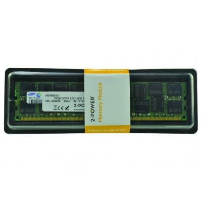 2-power RAM-geheugen: 16GB DDR3 1333MHz RDIMM LV Memory - replaces A0R59A