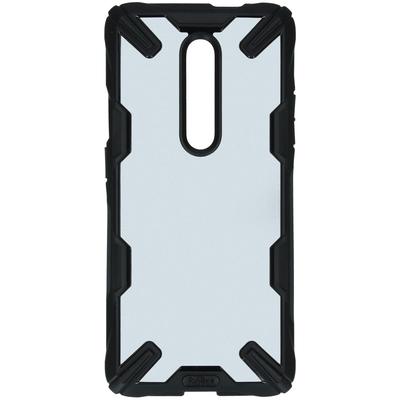 Ringke Fusion X Backcover OnePlus 7 Pro - Zwart - Zwart / Black Mobile phone case