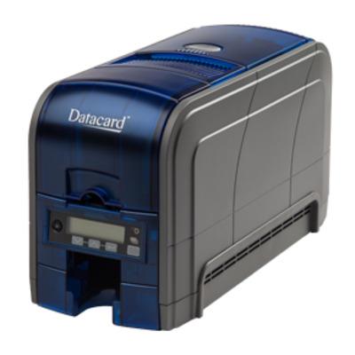 Datacard plastic kaart printer: SD160 - Zwart, Blauw