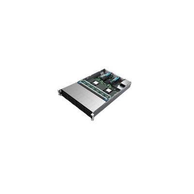 Intel server barebone: Server System R2312WFQZS - Zwart, Zilver