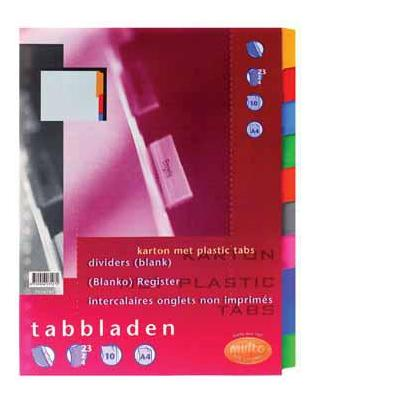 Multo indextab: tabbladen