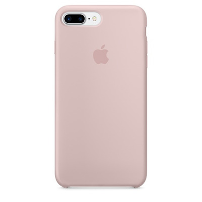 Apple mobile phone case: Siliconenhoesje voor iPhone 7 Plus - Rozenkwarts