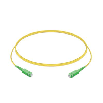 Ubiquiti Networks SC/APC to SC/APC, SM G.657A1 fiber, Simplex, 2.0mm jacket PVC, 1.5 m Fiber optic .....