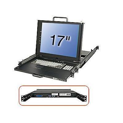 Lindy 21613 Rack console - Zwart