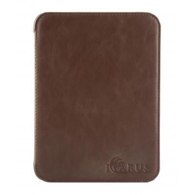 Icarus e-book reader case: Espresso bruine PerfectFit beschermhoes voor Illumina E654BK e-reader - Bruin, Espresso
