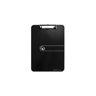 Herlitz klembord: clipboard, PS, A4 - Zwart