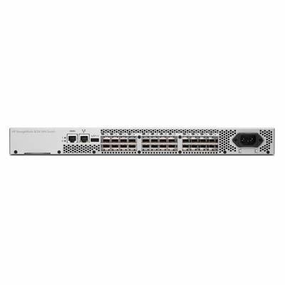 Hewlett Packard Enterprise switch: HP 8/24 Base (16) Full Fabric Ports Enabled SAN Switch - Grijs (Refurbished LG)