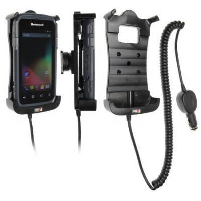 Brodit Active holder with cig-plug - Honeywell CT50 Houder - Zwart