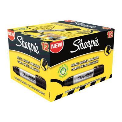 Sharpie marker: Magnum - Zwart, Metallic