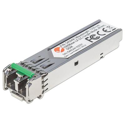 Intellinet Gigabit Fibre SFP Optical Transceiver Module, 1000Base-Lx (LC) Single-Mode Port, 80km Netwerk .....