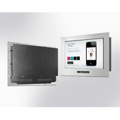 """Winsonic Stainless Panel Mount (OSD front), 48.26 cm (19"""") LCD monitor, 1280 x 1024, LED 250 nits, VGA input ....."""