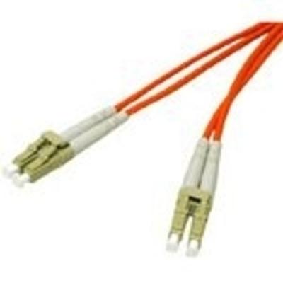 C2G 2m LC/LC LSZH Duplex 62.5/125 Multimode Fibre Patch Cable Fiber optic kabel