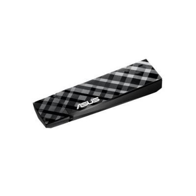 Asus netwerkkaart: USB-N53 - Zwart, Grijs