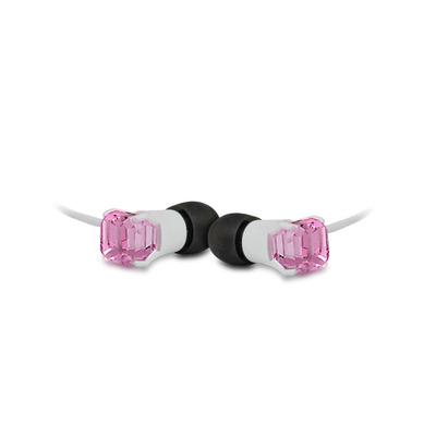Maroo MA-EP7003 Headset - Zwart, Roze, Wit