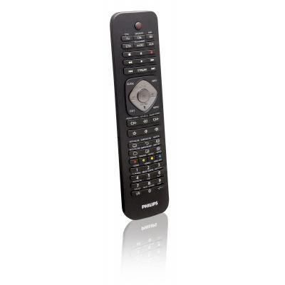 Philips afstandsbediening: Perfect replacement Universele afstandsbediening SRP5016/10 - Zwart