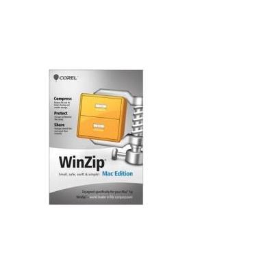 Corel WinZip Mac Edition, 200-499u, 1Y, MNT Backup software